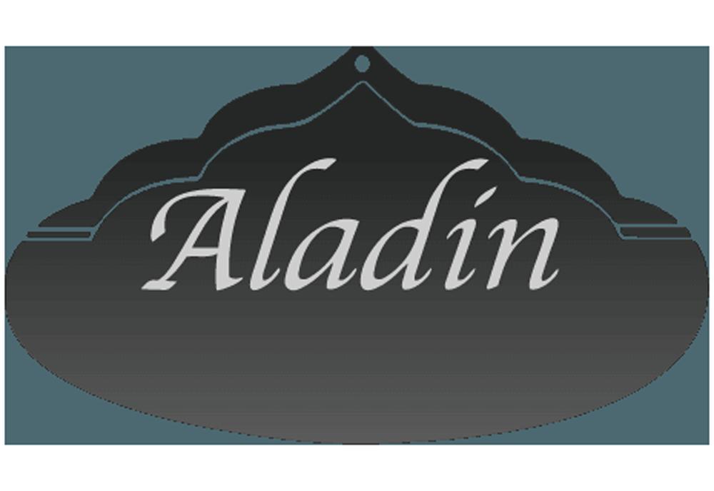 Aladin Pizzaservice Logo