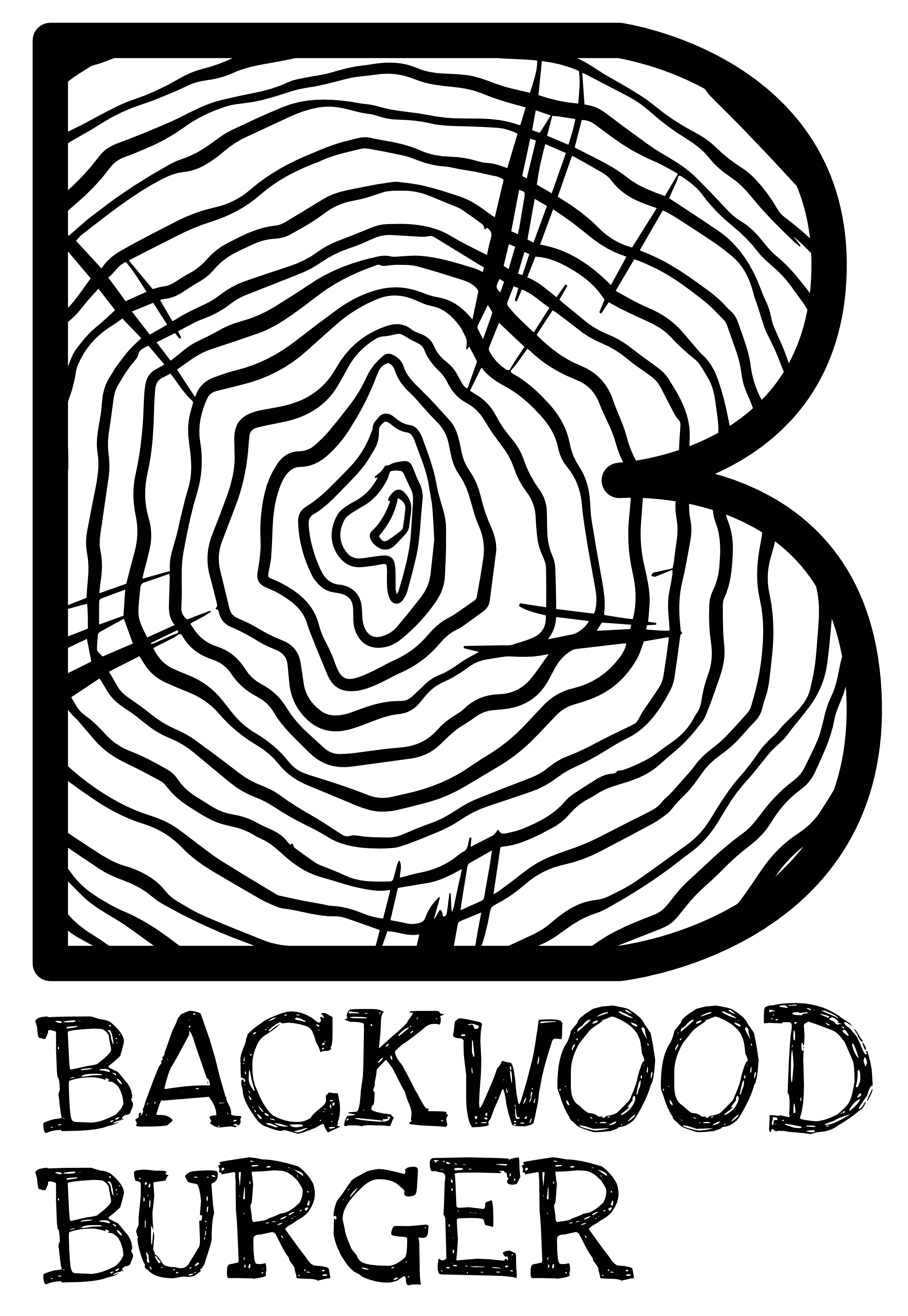 Backwood Burger Logo