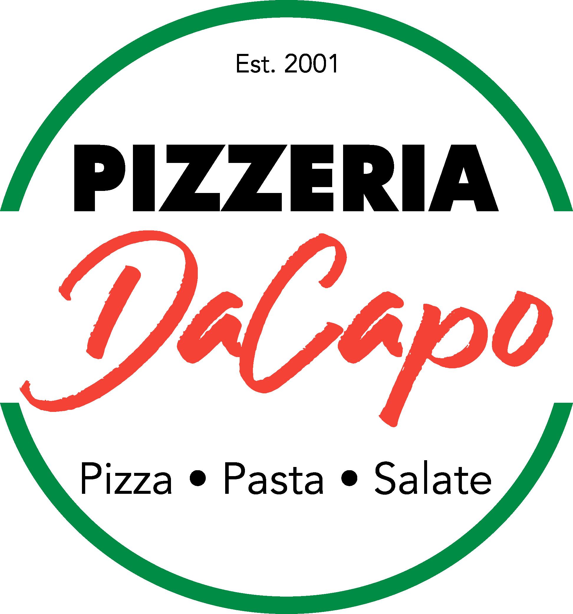 PIZZERIA DACAPO Logo