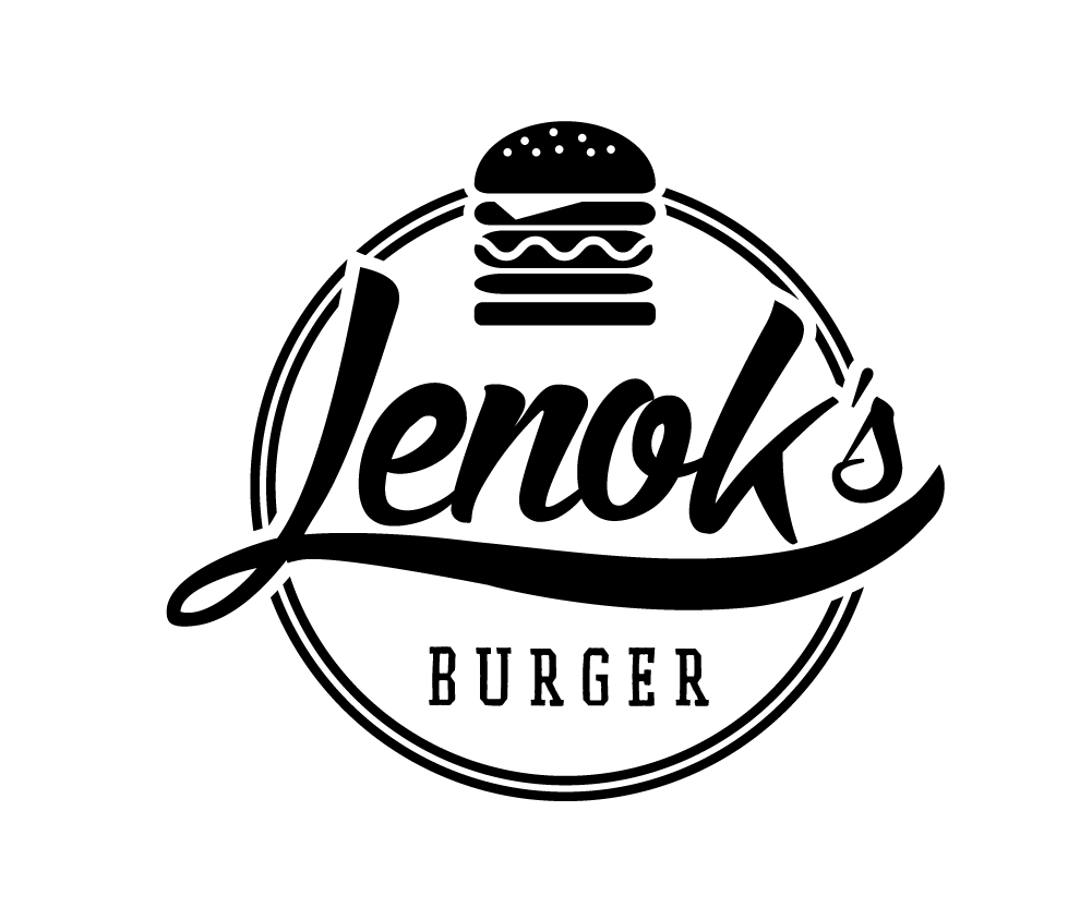 Lenok's Burger Station Logo